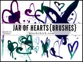 Jar of Hearts Brush Pack by brushchick