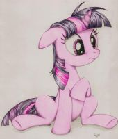 'Twilight Sparkle.' Coloration. by PoniesInHats