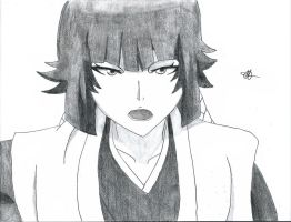 Bleach:Soi Fon by Grimmichou