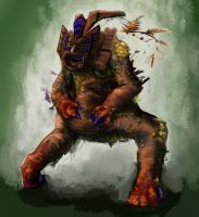 CT Monster Thing by JohnnySix