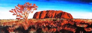 Ayers Rock by MadCaDDy85