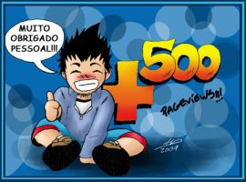 HuD ID mais de 500 pegeviews by HuD-Kun