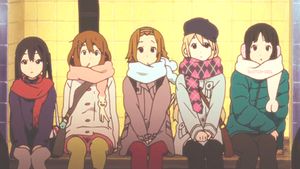 K-ON! Movie - Waiting in the metro by cjsn45