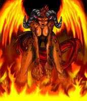 Wildfire Ifrit by Ocelit