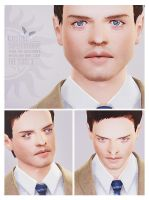 Castiel - Sims 3 [DOWNLOAD] by Fear-Me-December