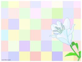 MS Paint flower by JacobMainland