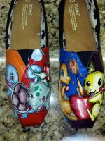 Pokemon Custom Canvas Shoes by Acrylicolt