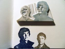 Sherlock and John... by jaslerb
