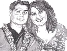 Pencil portrait from 2009 by Artfire74