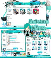 Hatsune Mikuo Tema Iconpackager by rolutkm