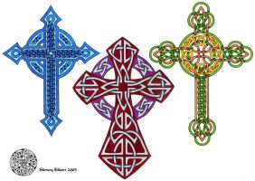 Flash - Celtic Crosses 3 by sidneyeileen