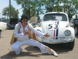 Herbie and Elvis by The-Dotted