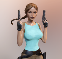 Anniversary Lara 1 by tombraider4ever