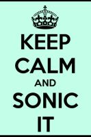 Keep calm - sonic screwdiver doctor who by htf-lover12