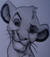 SIMBA FACE by sinsenor