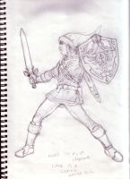 Yeo Olde Link Sketch by paperlab