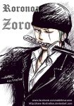 Roronoa Zoro Fanart by hase-illustration
