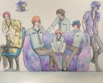 Security Guards Watercolour by NightWitch14