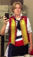 Enjolras Cosplay by DexTheSpoonyOne
