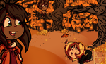 Day 1 .:Fall Leaves:. by TwistedDisaster