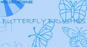 butterfly brushes by feelingthechaange
