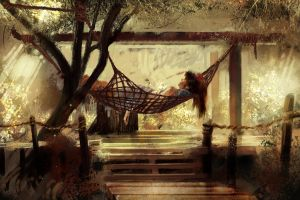 SDJ: Hammock Siesta by The-Ronin-Artist