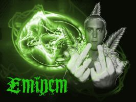 Eminem Backgroud by Dark-Annemieke