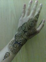 Henna Circle Pattern by A-w0man