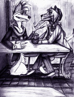 Coffee Shop Chique by the3Ss