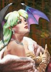 lady morrigan aensland by aramismarron