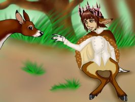 Bambi - Prince of the Forest by Kneel4Loki13