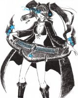 Black Rock Shooter Sona by Shwampy