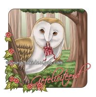 Barn Owl by Toki-Designs