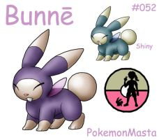 Bunne 052 by PokemonMasta