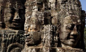 The Bayon Temple - Angkor Wat by Toby-1-kenobi
