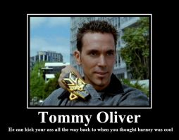 Tommy Oliver by rumper1