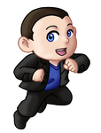 Chibi 9th Doctor v2 by TwinEnigma
