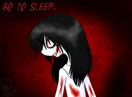 have some jeff the killer by Caffeine-Coated