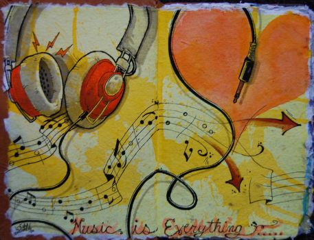 Music is Everything by LoganChildress