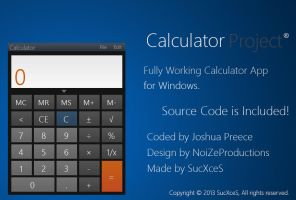Samsung like Android Calculator App for Windows by SucXceS