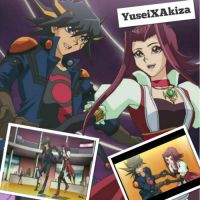 Faithshipping Wallpaper: ~YuseiXAkiza~ by XxXxRedRosexXxX