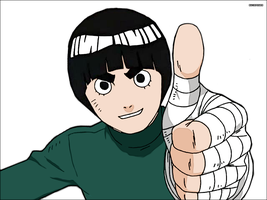 Rock Lee - Repainted by Ryoku15