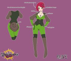 Olive Character Sheet by setsuna22