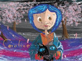 Expressionism Coraline by taty1410