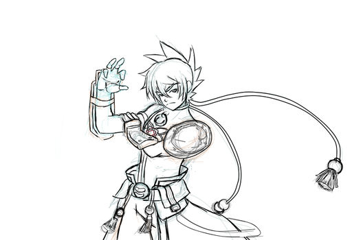 Jin Rama lineart? by acemaster34