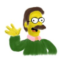 ned flanders by rev-Jesse-C