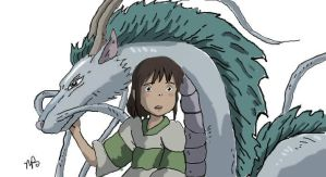 spirited away by Abstractgirl
