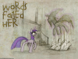 Words Failed Her (Cover) by Nonsanity-Cat