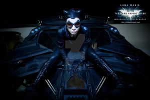 Lana Marie and the Tumbler (batmobile) by dreamerl85