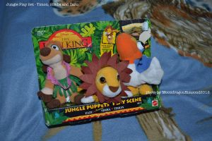 Jungle Finger Puppet Playset - TLK by MoondragonEismond